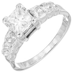 .75 Carat Diamond White Gold Engagement Ring