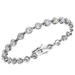Emilio Jewelry .75 Carat Each Diamond Emilio! Signature Endless Bracelet