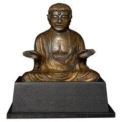 Antique Korean or Japanese Buddha - 7622