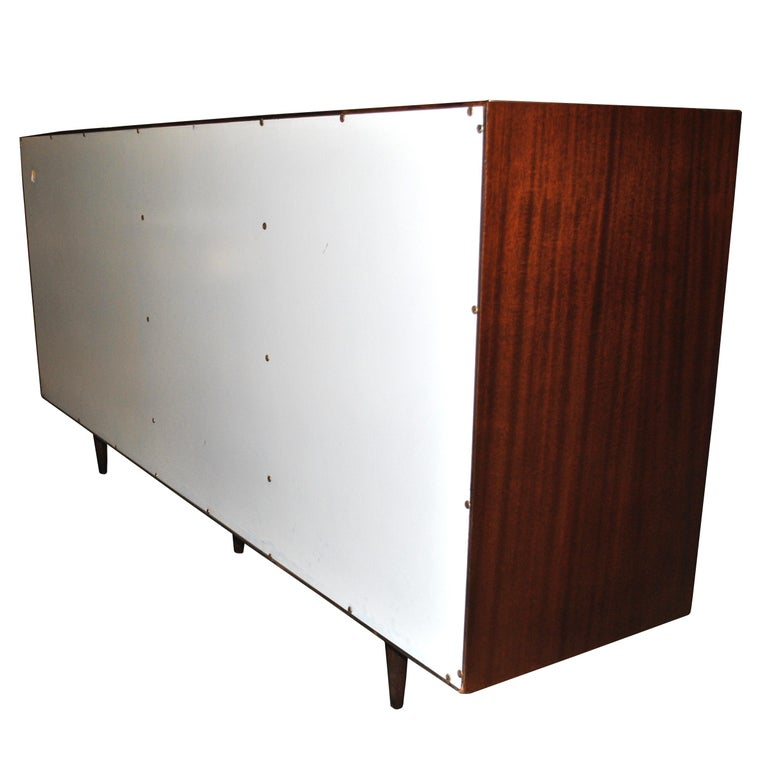 Vintage Rosewood Mahogany Harvey Probber Credenza For Sale 6