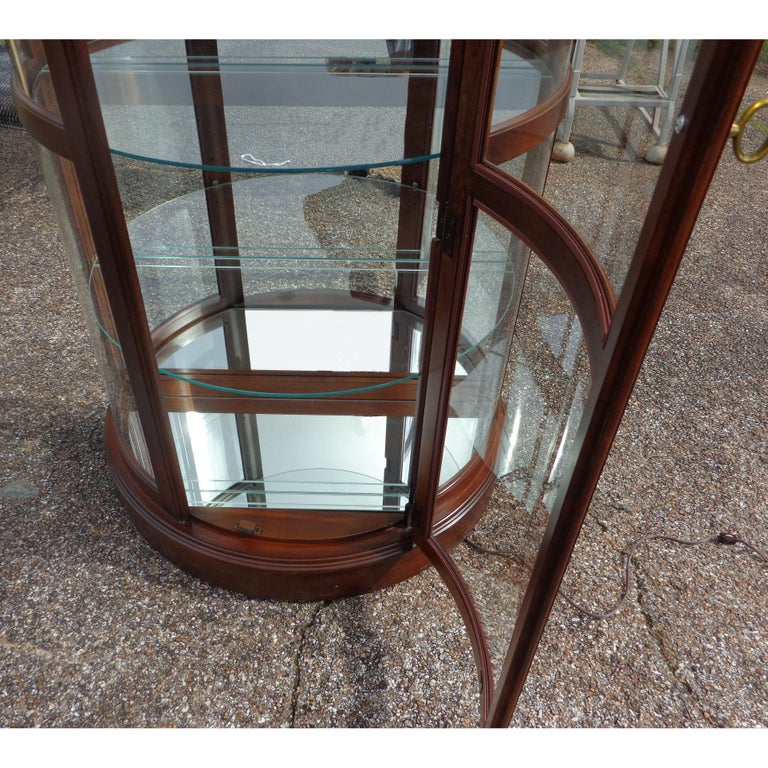North American Display Cabinet by Pulaski Furniture Corporation For Sale