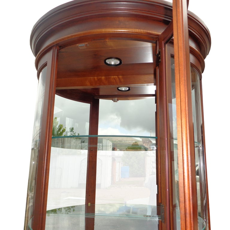 Display Cabinet by Pulaski Furniture Corporation In Good Condition For Sale In Pasadena, TX