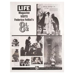 8 1/2 1963 U.S. 30 by 40 Film Poster