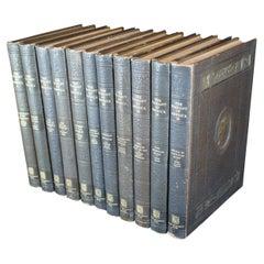 8 Antique 1894 Great Men & Famous Women 1st Edition Sketch Engraving Books Hess