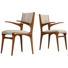 Carlo DeCarli 8 Arm Chairs