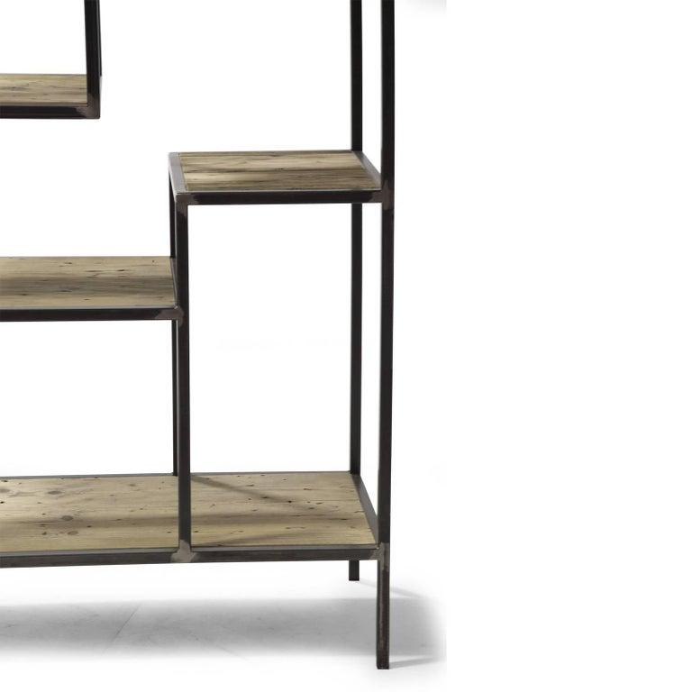 Italian Eight Bookcase For Sale