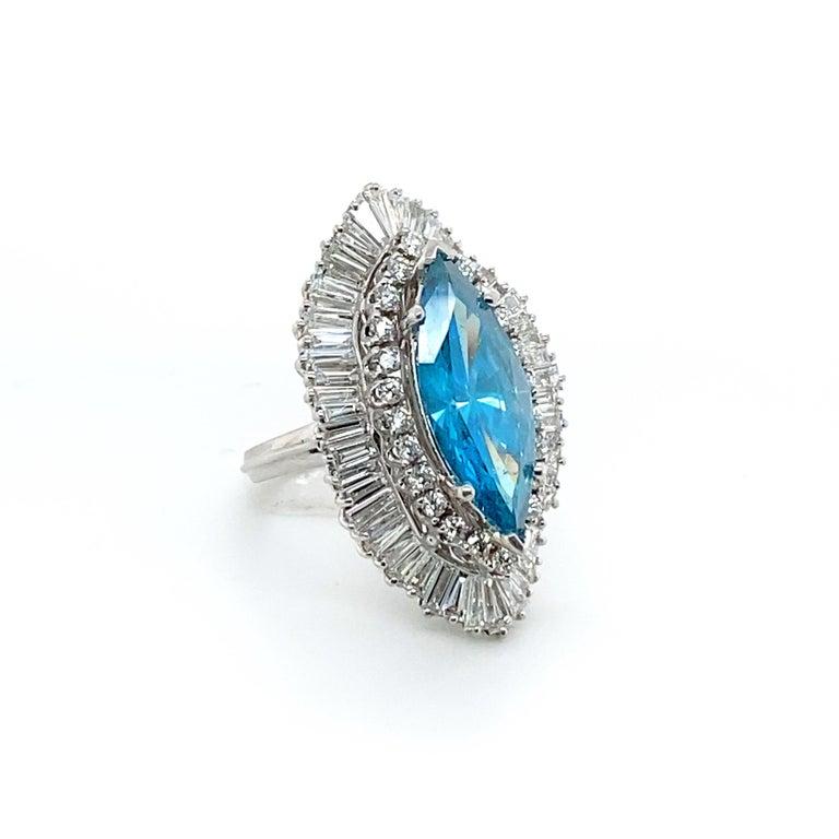 8 Carat Blue Diamond Ring 1