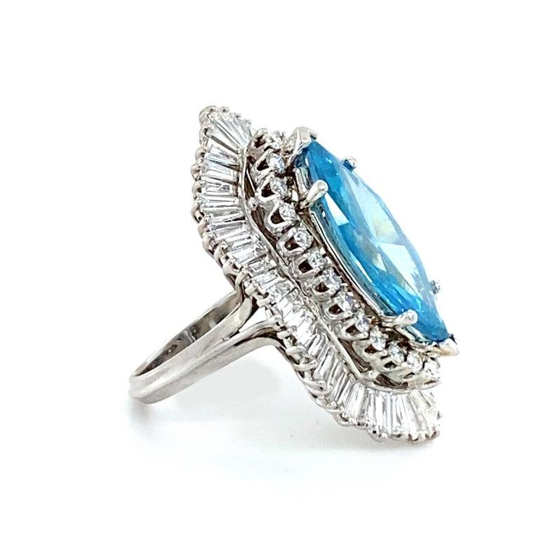 8 Carat Blue Diamond Ring 3