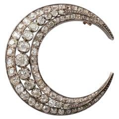 8 Carat Diamonds Antique Crescent