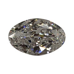 Seven Carat Oval Diamond for Ring or Pendant GIA D Color VS1 Clarity
