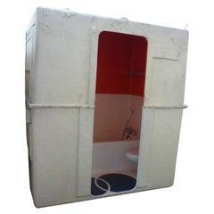 8 Charlotte Perriand Bath Cabin Units, Les Arcs, Savoy, France, 1975