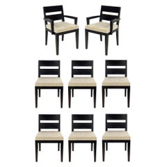 8 Clean Lined Modern Dining Chairs by Desiron