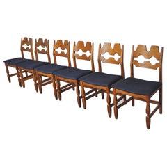 8 Danish Dining Chairs by Henning Kjærnulf