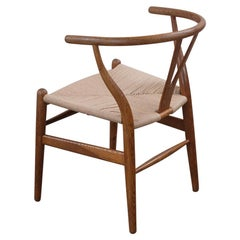 8 Hans Wegner Wishbone Chairs