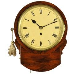 8 Inch Fusee Rosewood Dial Clock Camera Kuss , London