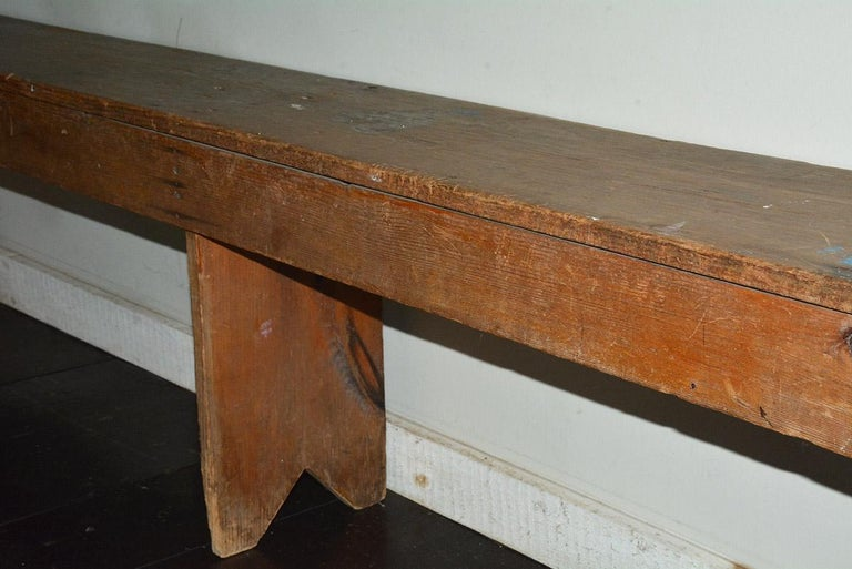 Wood Rustic American Country Bench For Sale