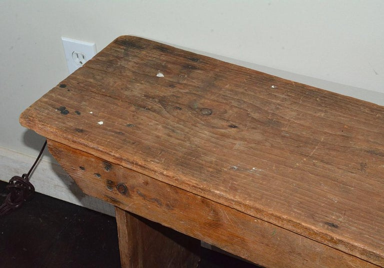 Rustic American Country Bench For Sale 1