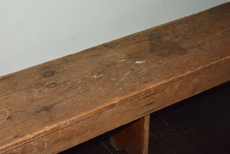 Rustic American Country Bench For Sale 2