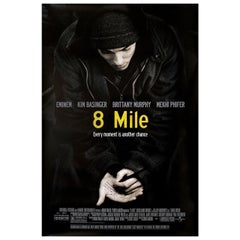8 Mile 2002 U.S. One Sheet Film Poster