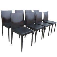 8 Rosewood Anna R Chairs Designed by Ludovica and Roberto Palomba