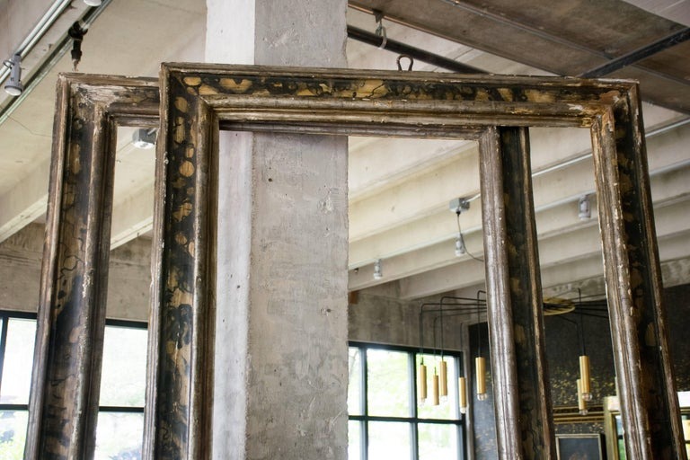 Tall Italian 19th Century Frames, Pair In Good Condition For Sale In Austin, TX
