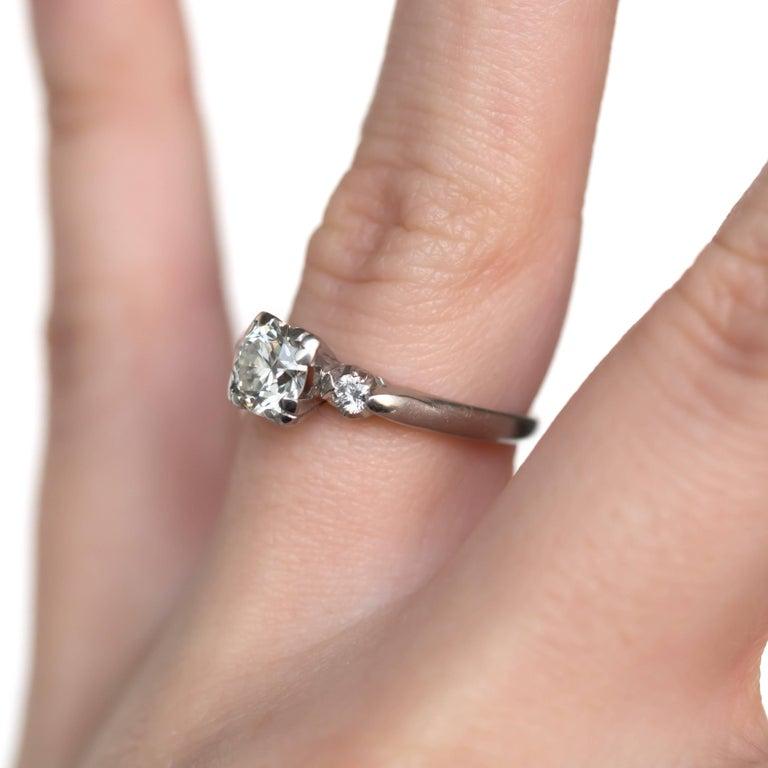 Platinum Engagement Rings Sale Uk: .80 Carat Diamond Platinum Engagement Ring For Sale At 1stdibs
