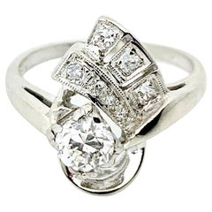 .80 Carat Retro Diamond Ring