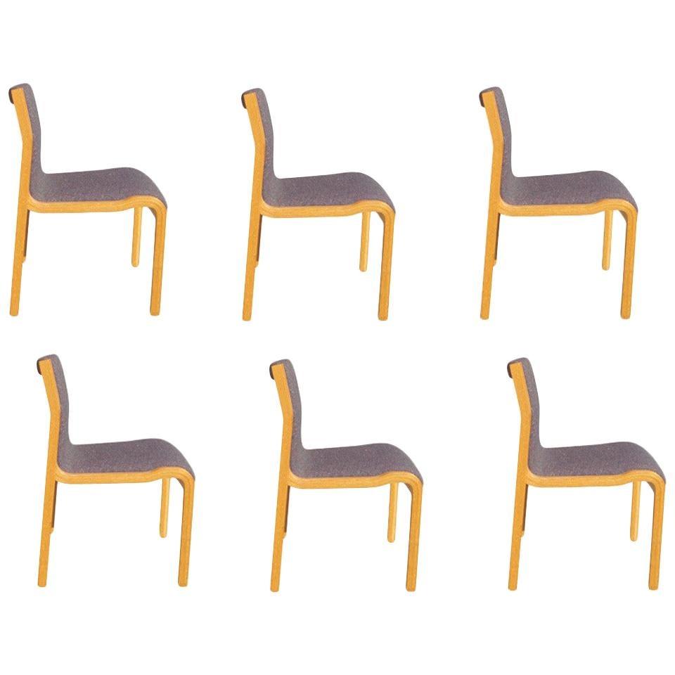 1 Lindau and Lindekrantz Stendig Stackable Dining Side Chair