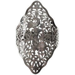 800 Silver Thai Dancer Cut-Out Cuff Bracelet