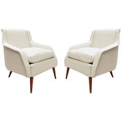 802 Armchairs by Carlo de Carli for Cassina, 1950s
