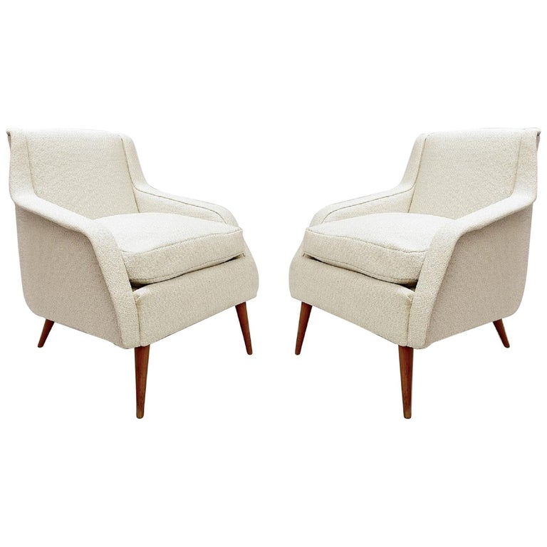 802 Armchairs by Carlo de Carli for Cassina, 1950s For Sale