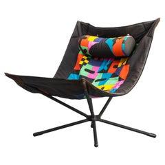 """1980s Alberto Salviati & Ambrogio Tresoldi """"Miamina"""" Chair for Saporiti"""