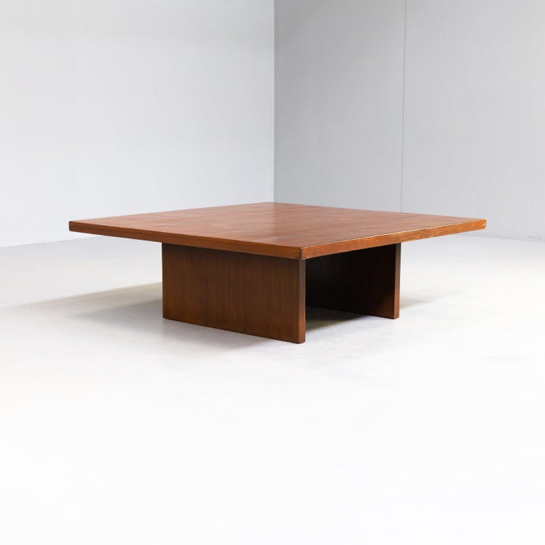 20th Century 80s Bamboo Coffee Table Attr Axel Vervoordt Belgium For Sale