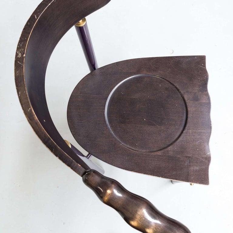 1980s Borek Sipek 'Jansky' Chairs for Driade, Set of 2 5
