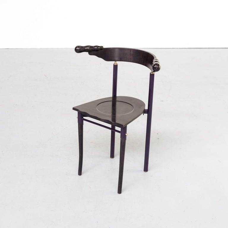 Metal 1980s Borek Sipek 'Jansky' Chairs for Driade, Set of 2