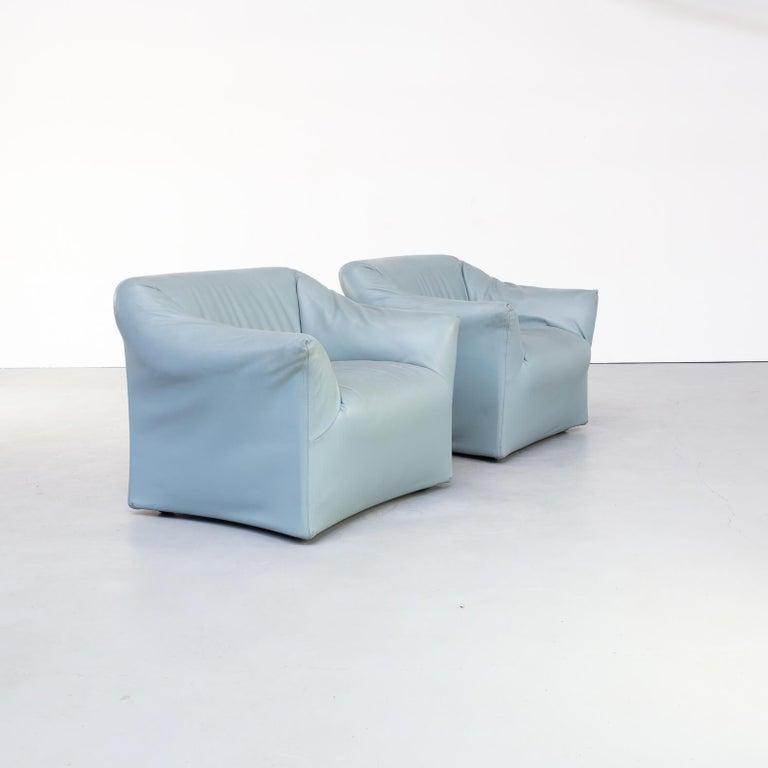 80s Mario Bellini Model 685 Sofa for Cassina Set/2 In Good Condition For Sale In Amstelveen, Noord