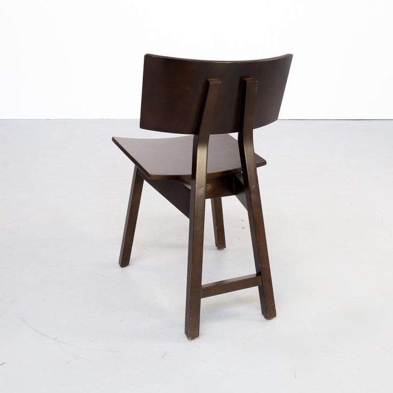 1980s Niall O'flynn 'barcelona' Dining Chair for Concepta Set/6 For Sale 3