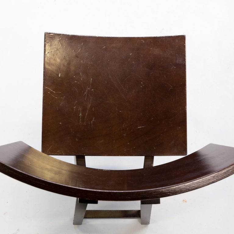 1980s Niall O'flynn 'barcelona' Dining Chair for Concepta Set/6 For Sale 5