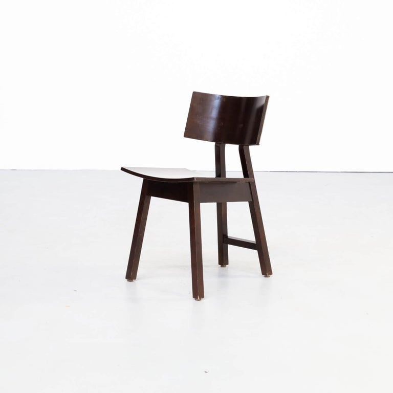Spanish 1980s Niall O'flynn 'barcelona' Dining Chair for Concepta Set/6 For Sale