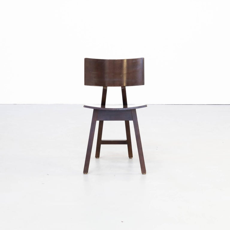 1980s Niall O'flynn 'barcelona' Dining Chair for Concepta Set/6 In Good Condition For Sale In Amstelveen, Noord