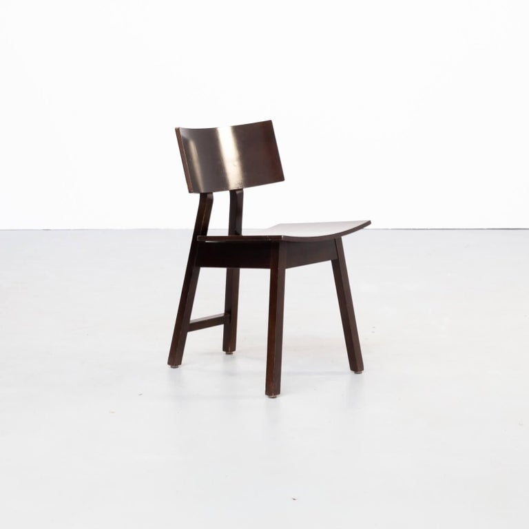 20th Century 1980s Niall O'flynn 'barcelona' Dining Chair for Concepta Set/6 For Sale