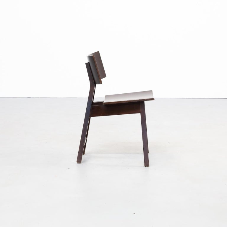 Wood 1980s Niall O'flynn 'barcelona' Dining Chair for Concepta Set/6 For Sale
