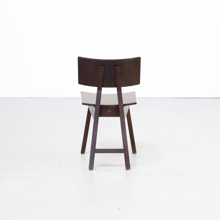 1980s Niall O'flynn 'barcelona' Dining Chair for Concepta Set/6 For Sale 1