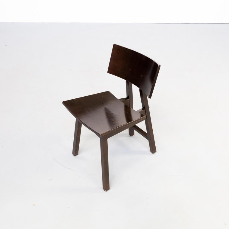 1980s Niall O'flynn 'barcelona' Dining Chair for Concepta Set/6 For Sale 2