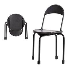 1980s Paolo Orlandini & Roberto Lucci 'clark ck3' Folding Chair for Lamm
