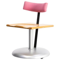 1980s Pepe Cortes & Javier Mariscal 'trampolin' Desk Chair Akaba Editions
