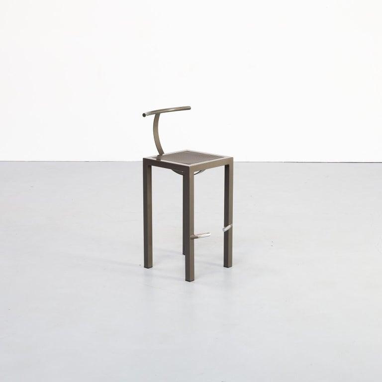 Mid-Century Modern 1980s Philippe Starck 'sarapis' Bar Stool for Driade