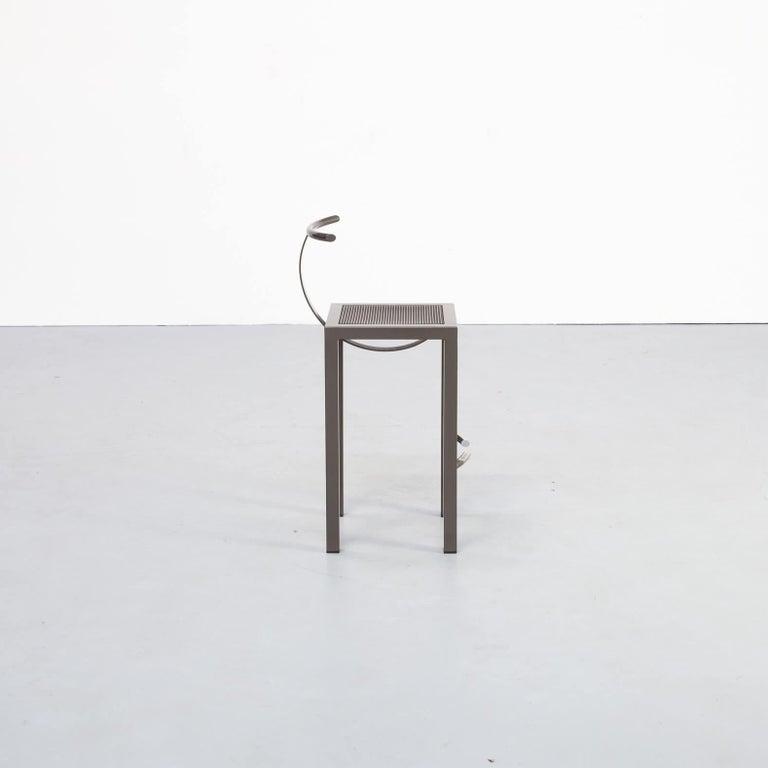 Italian 1980s Philippe Starck 'sarapis' Bar Stool for Driade