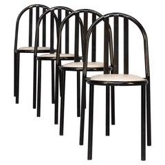 80s Robert Mallet Stevens Nr 222 Dining Chair Set/4