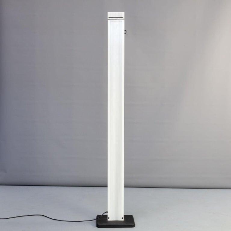 Italian 1980s Sergio Carpani 'Zagar' Dimmable Halogen Floor Lamp for Stilnovo For Sale